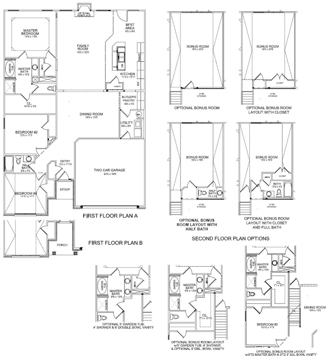 Floor plans baldwin kentucky real estate for Baldwin floor plan