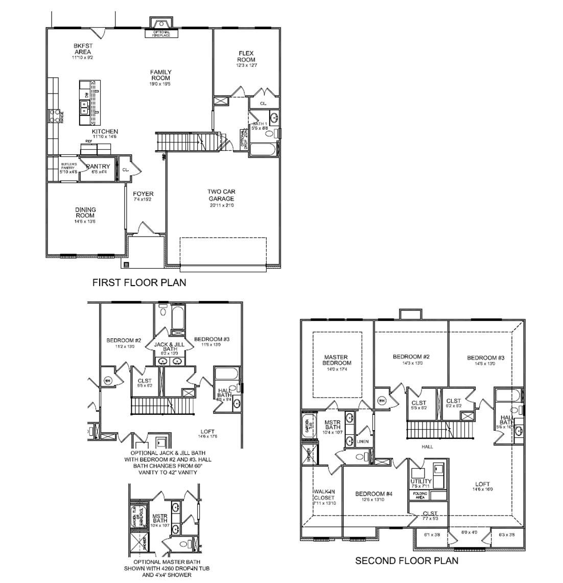 Ball homes the canterbury Canterbury floor plan
