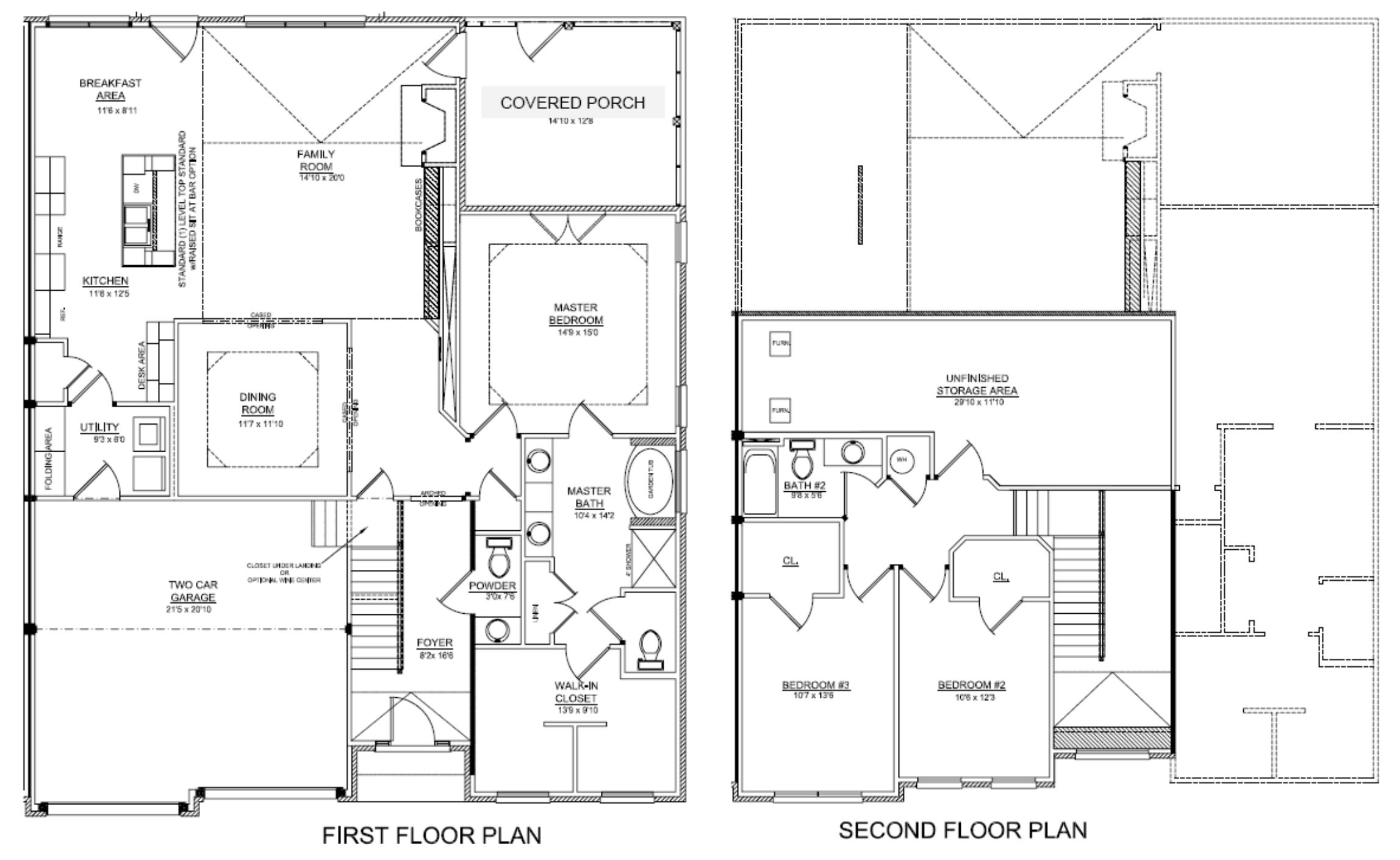 25 delightful luxury townhome floor plans building plans for Luxury townhome floor plans