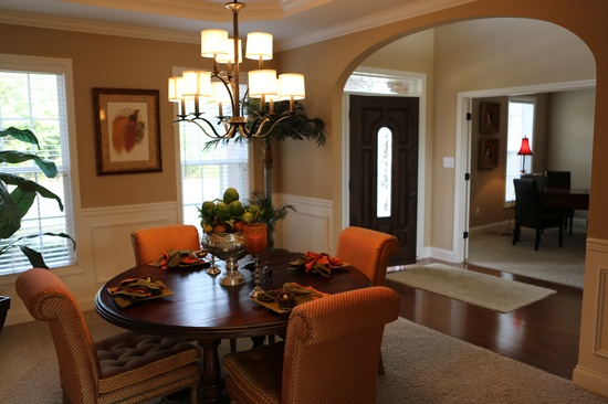 dining room paint ideas pinterest. small next to big on main wall