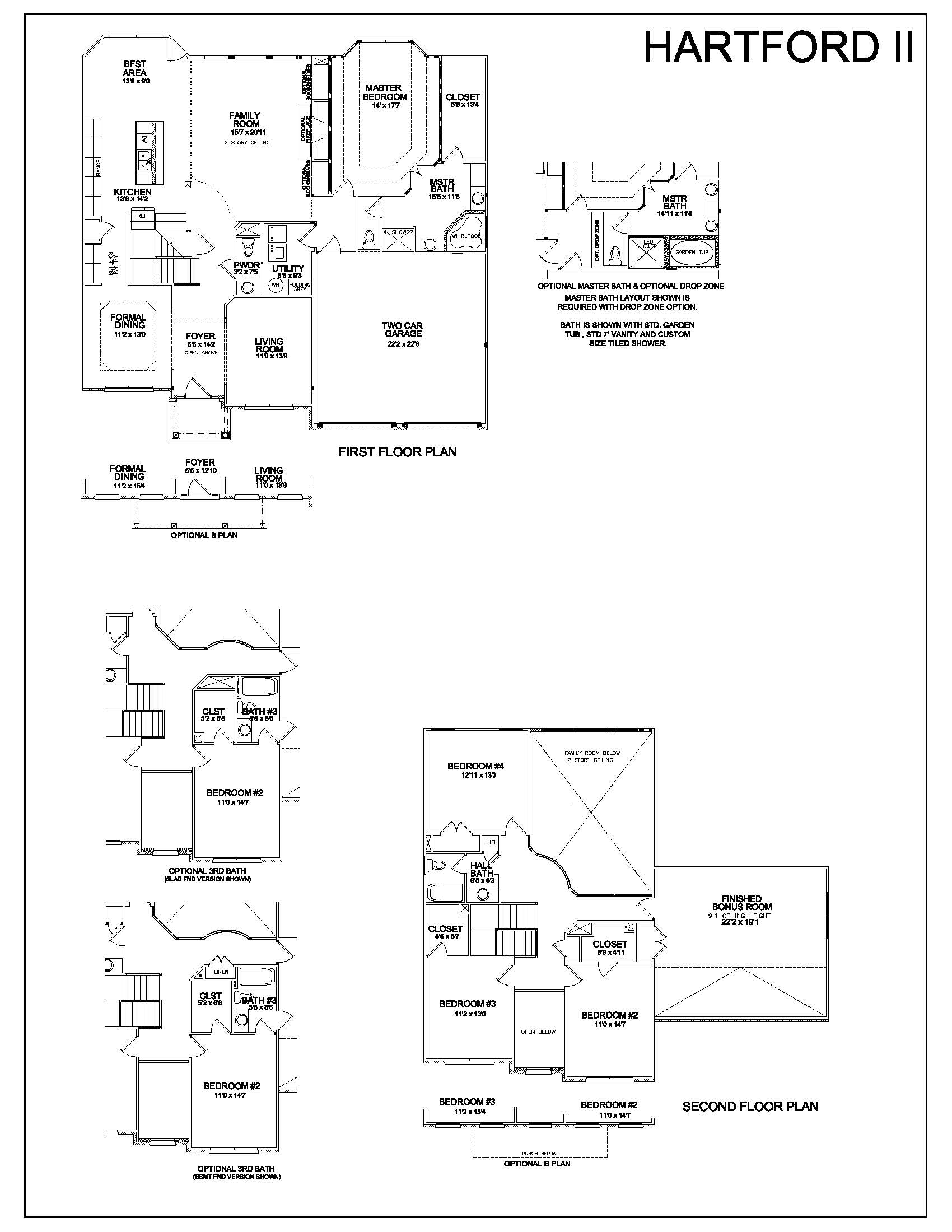 floor plans hartford ii louisville real estate