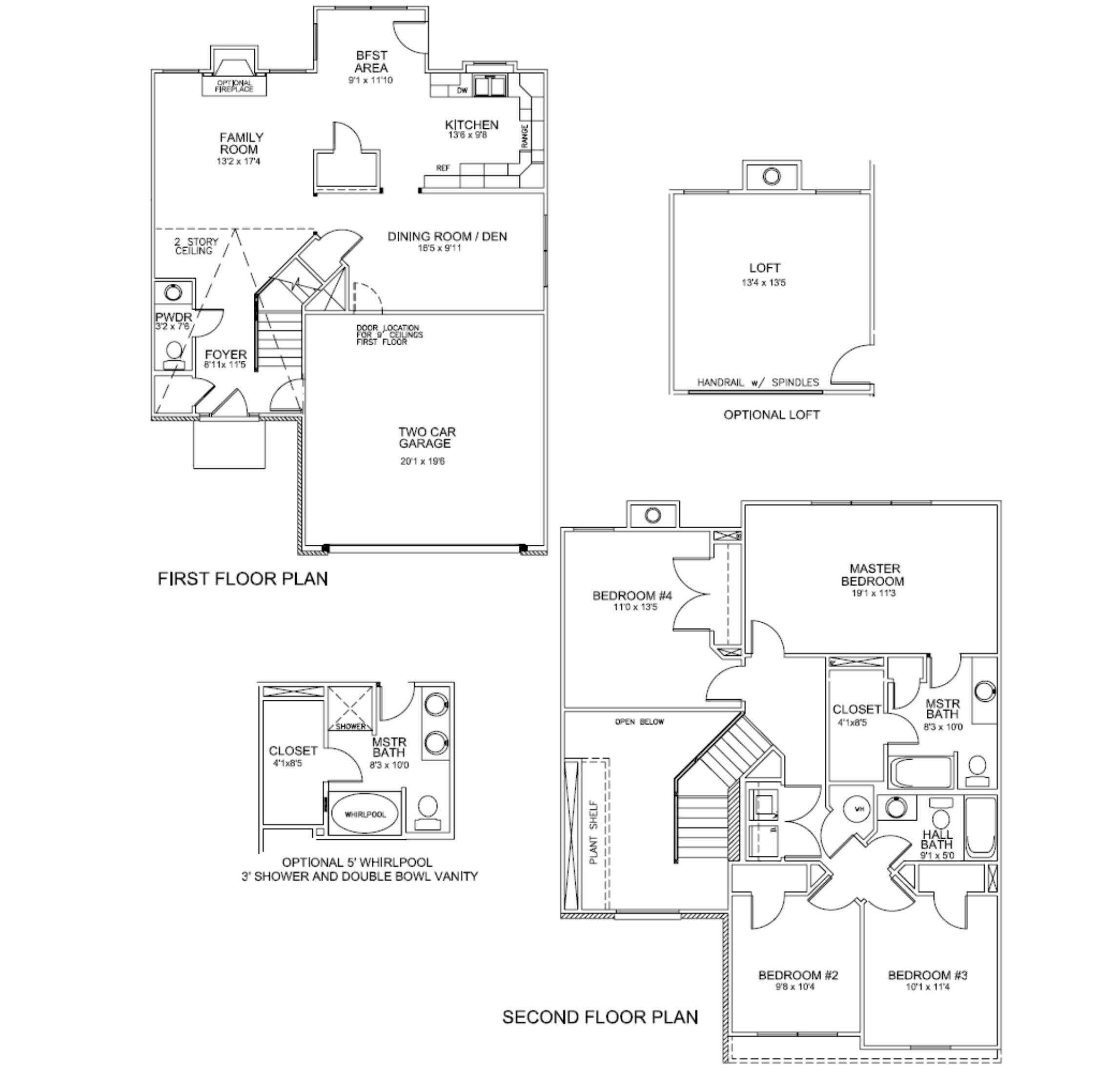 100 Townhouses Floor Plans Prestige Homes