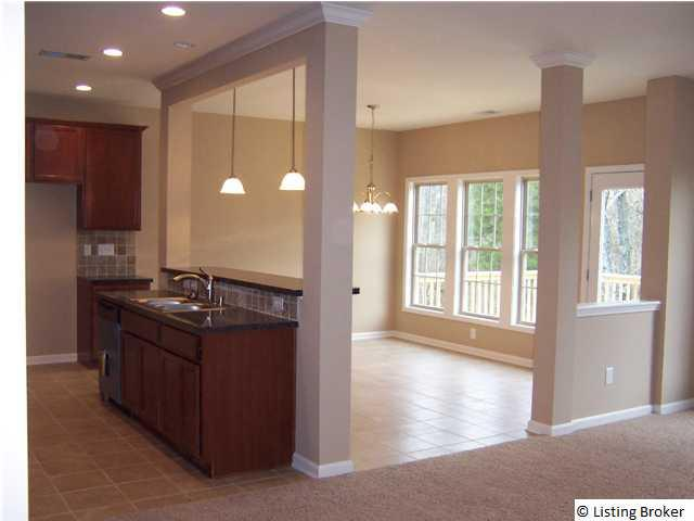 Ball homes offers move in ready homes for Living room with 9 foot ceilings