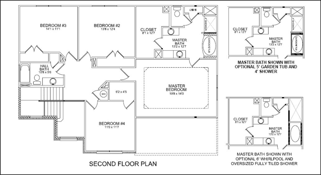 Second Floor Plan Jackson Ii Floor Plan Update On House Plans For The Jackson