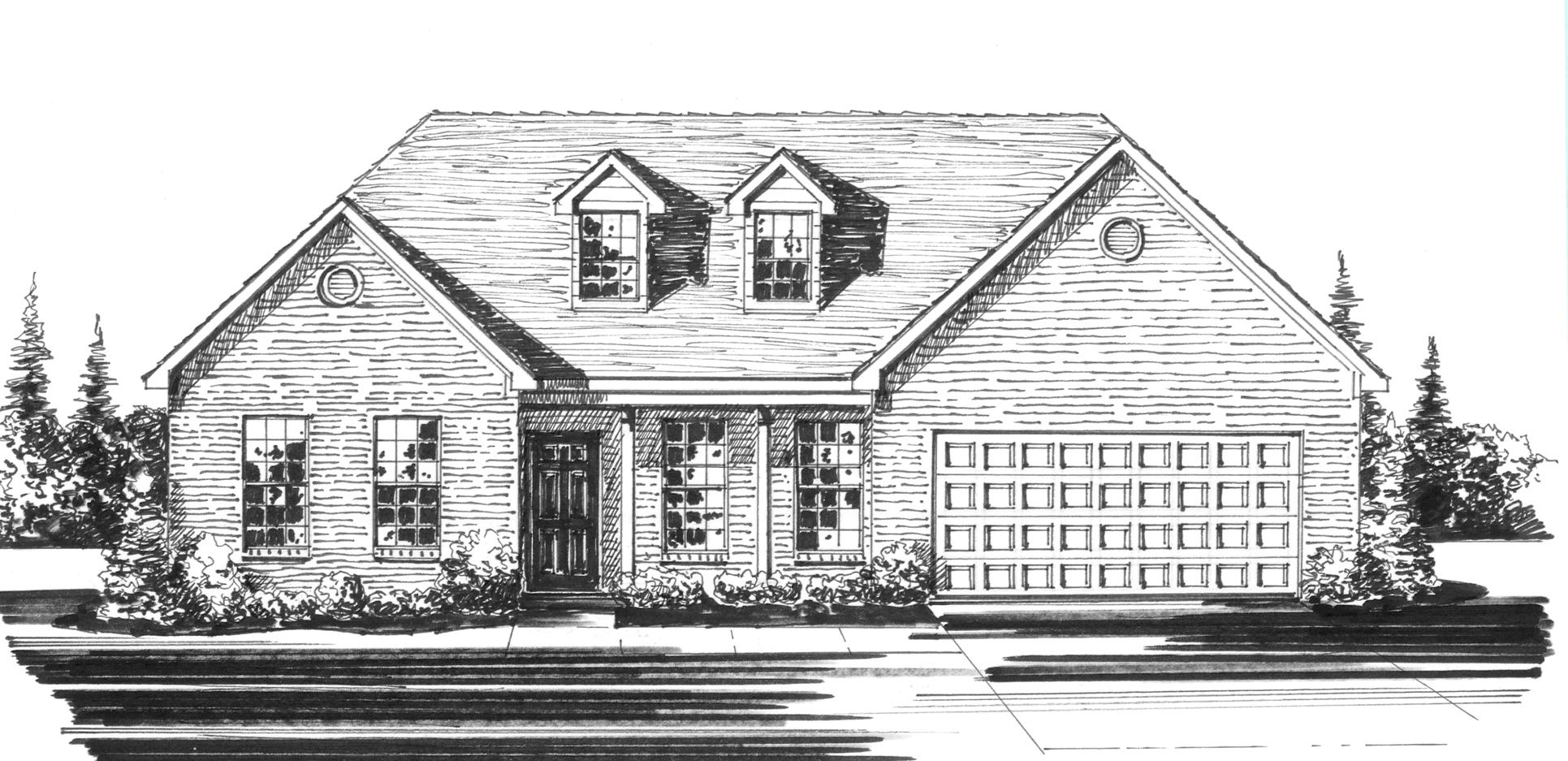 Floor plans for Expanded ranch floor plan