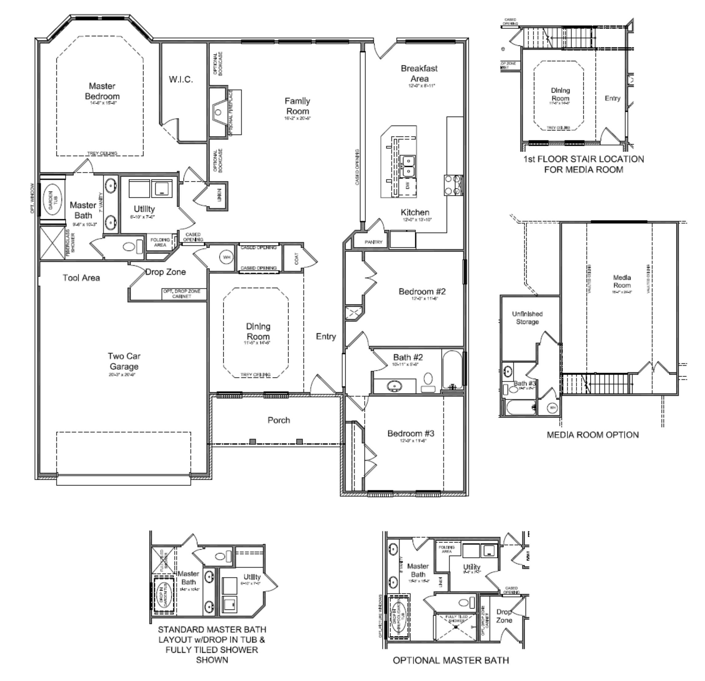 Nice Homes With Floor Plans Images Floor Plans For