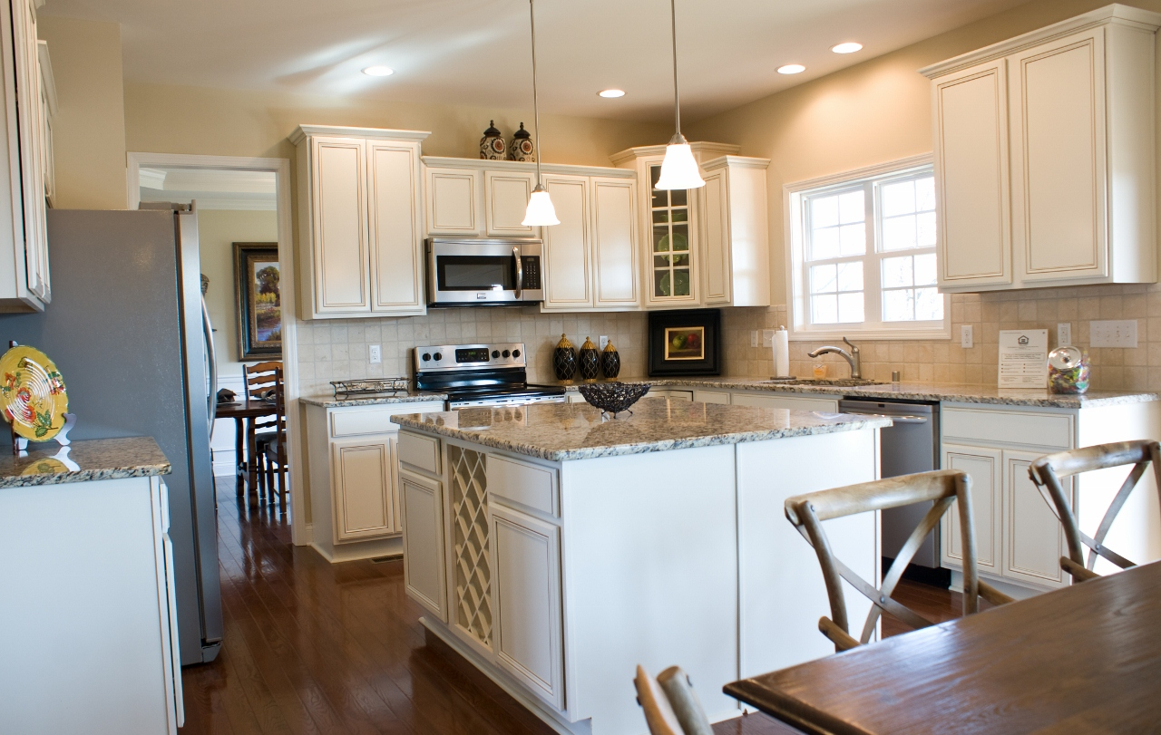 The benefits of buying new for Model home kitchens