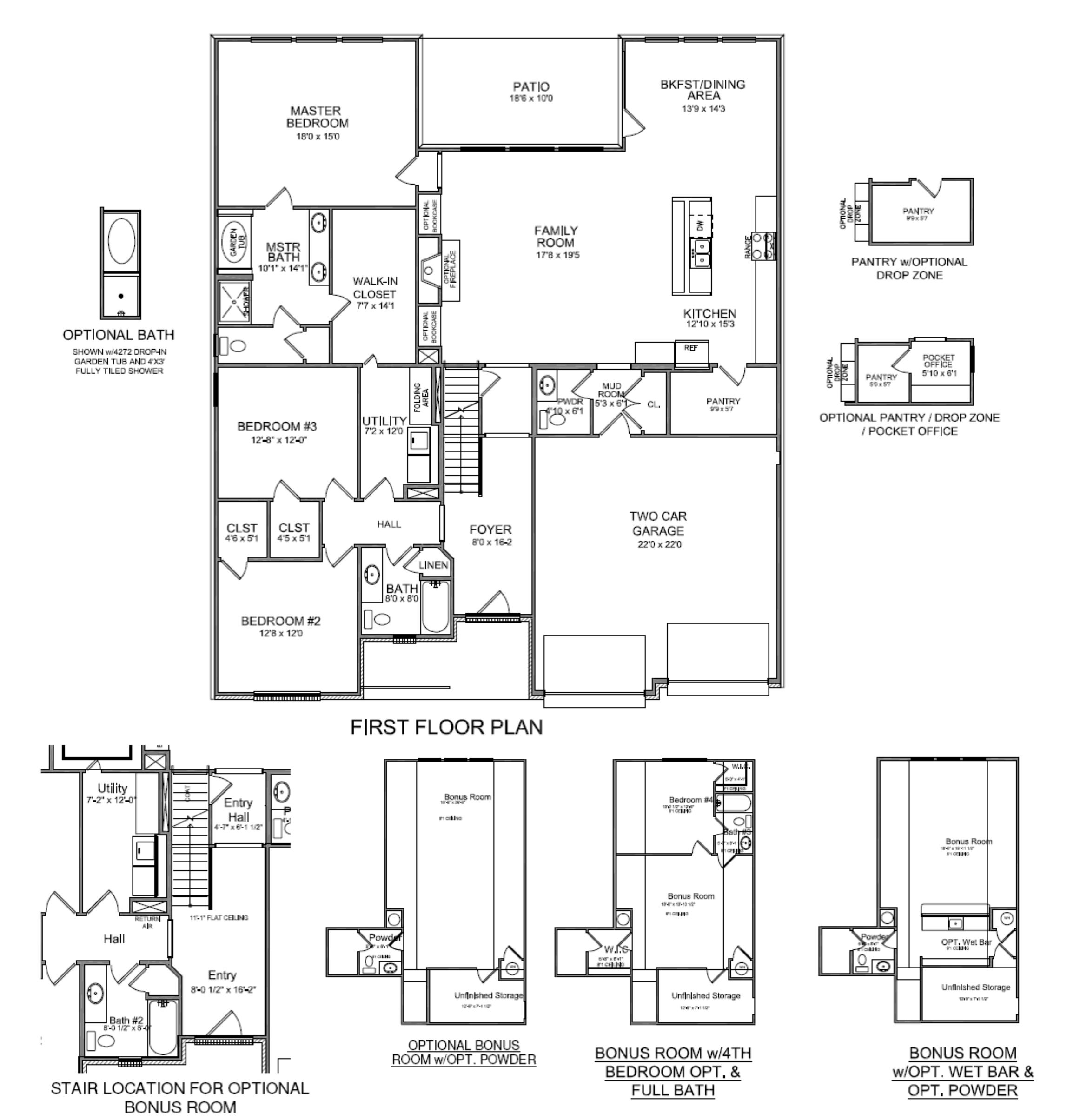 New House Plans 2014 new floor plan: the glenstone